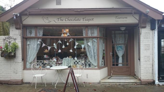 Chocolate Teapot Tearoom Esher exterior