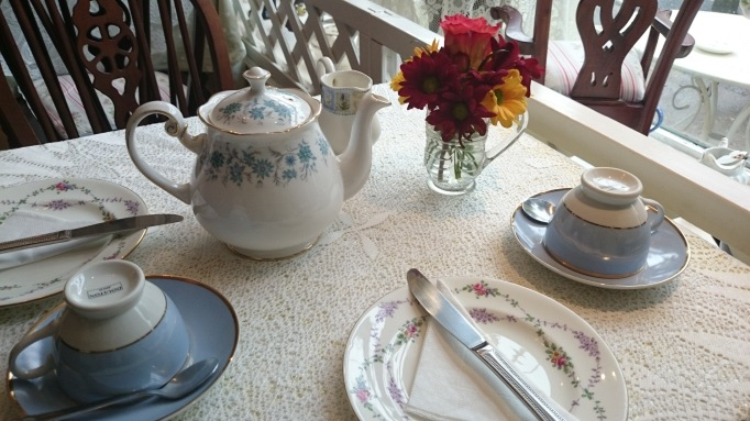 Chocolate Teapot Tearoom Esher tea