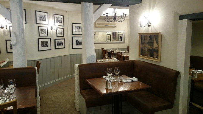 Shepperton Wine Bar & Grill dining area