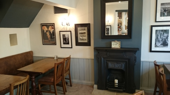 Shepperton Wine Bar & Grill fireplace