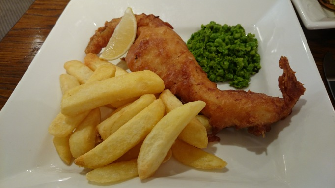 Shepperton Wine Bar & Grill fish & chips