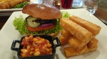 Shepperton Wine Bar & Grill vegetarian burger