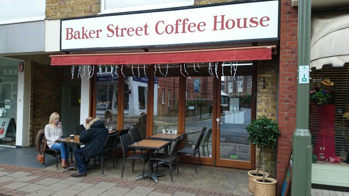 Baker street coffee house exterior