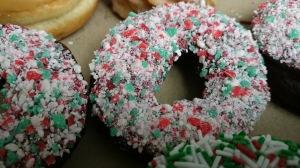 Tim Hortons Christmas donut
