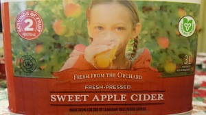 Canadian apple cider