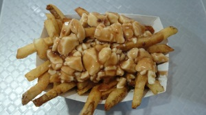 Poutine with great cheese curds