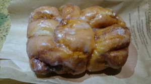 Tim Horton's dutchie donut