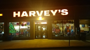 Harveys exterior