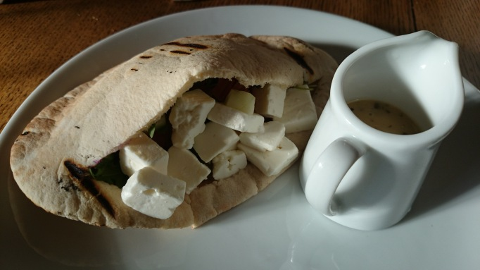 The Crown Chertsey feta pita
