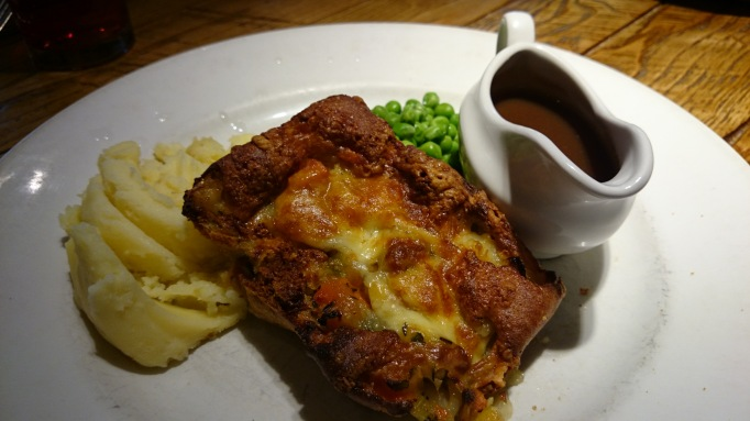 Ashley Parky vegetarian toad in the hole