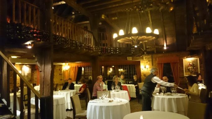 La Capanna dining area