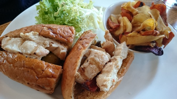William Bray Shere chicken sandwich