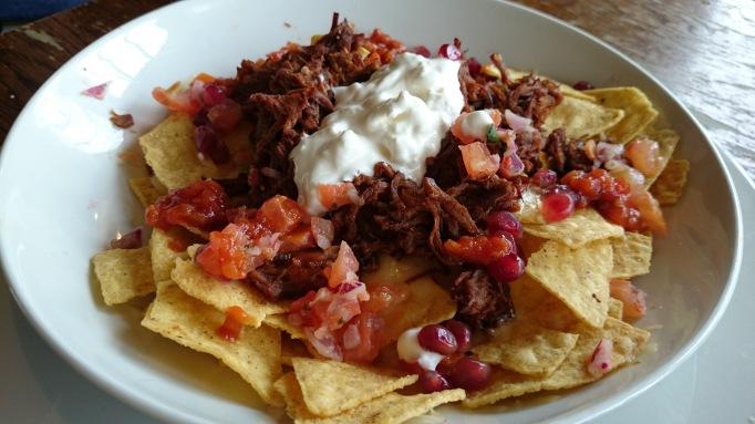 Ye Olde Swan beef nachos