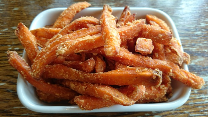 Ye Olde Swan sweet potato fries