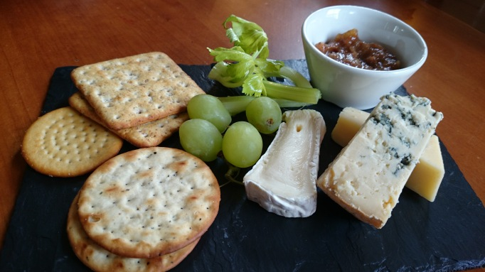The Alexander Weybridge English cheese plate