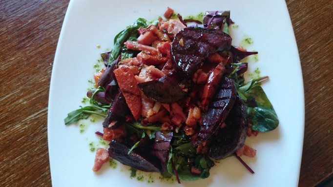 Stephan Langton pub surrey  beetroot salad