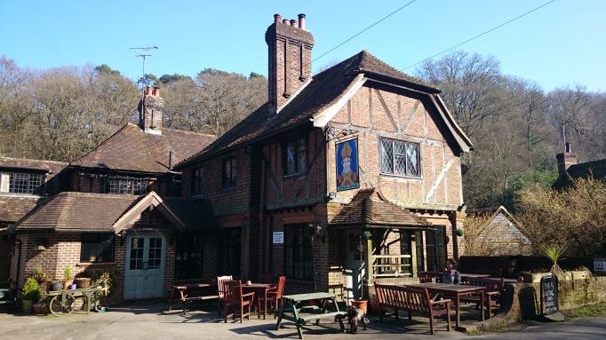 Stephan Langton pub surrey exterior