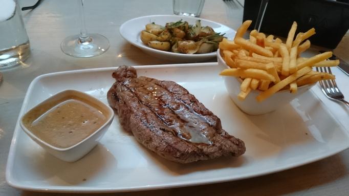 Strada Cobham sirloin steak