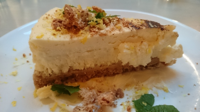 Strada Cobham lemon ricotta cheesecake
