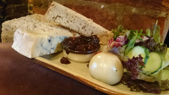 Withies Inn stilton ploughman's