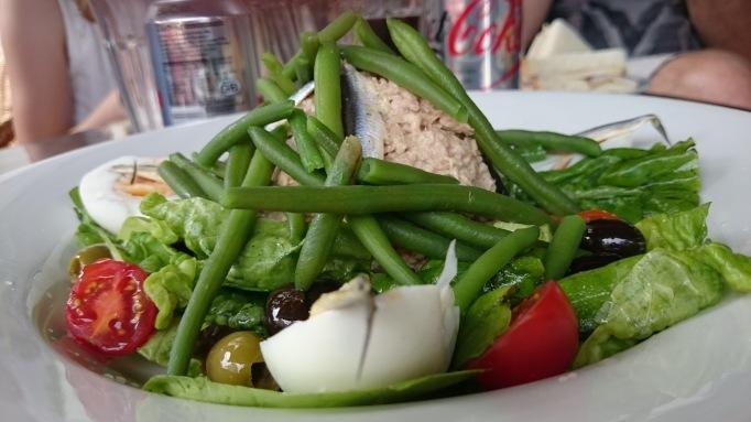Five at the Bridge salad Nicoise