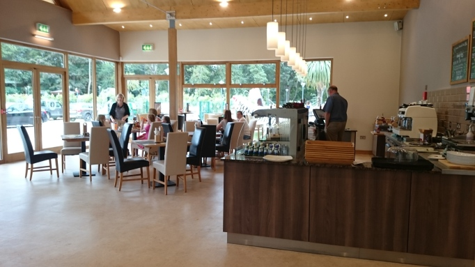Hersham Golf Club safari adventure golf cafe interior