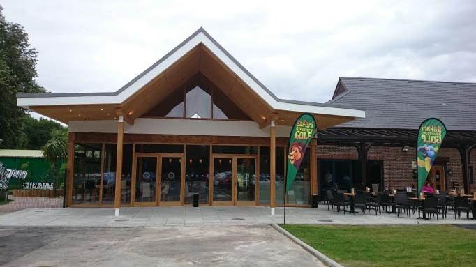 Hersham Golf Club safari adventure golf exterior