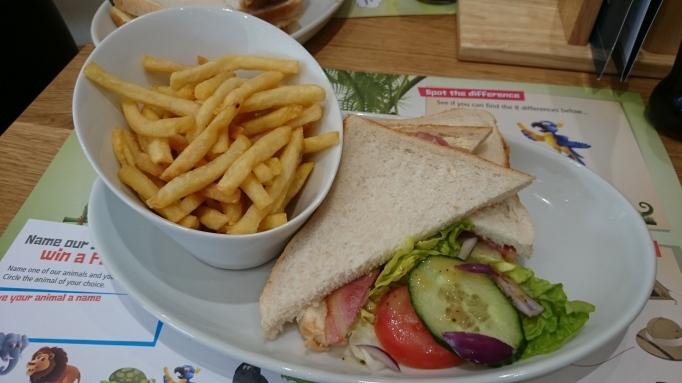 Hersham Golf Club safari adventure golf bacon sandwich