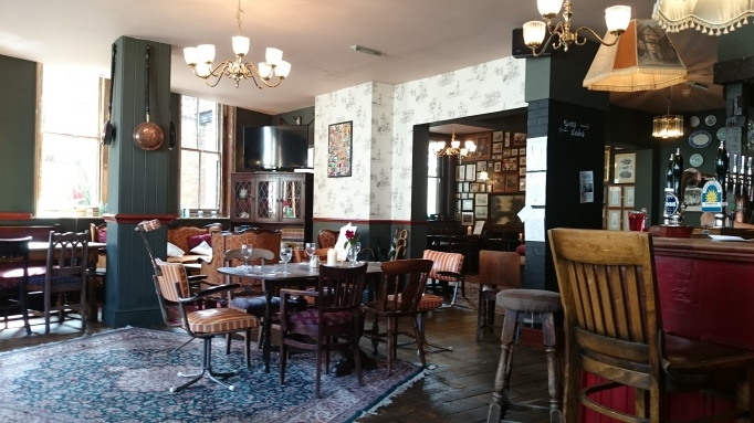 The Olde Swan Chertsey interior