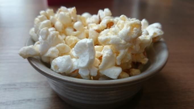 popcorn amuse bouche at Tante Marie
