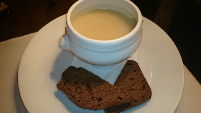 Riverside Carlton Mitre celeraic soup