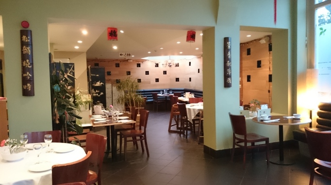 Naturally Chinese Restaurant interior