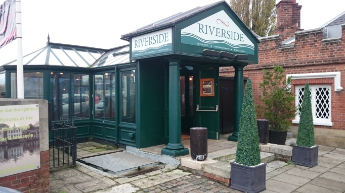 Riverside Restaurant entrance