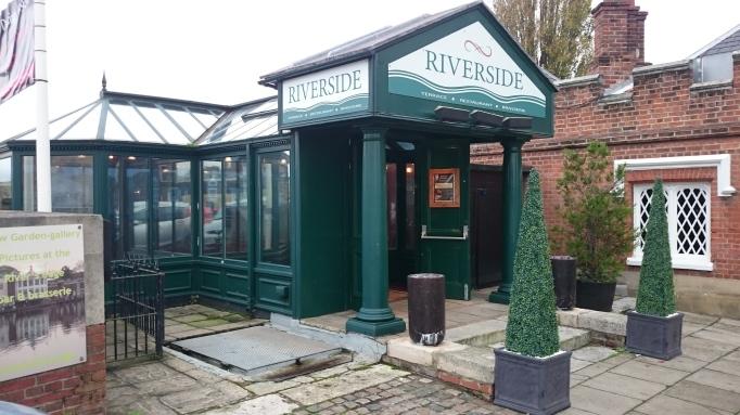 Riverside Restaurant entrance