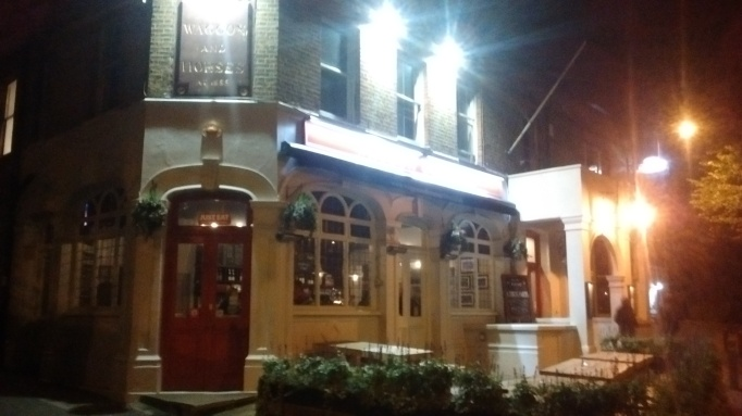 Waggon and Horses exterior