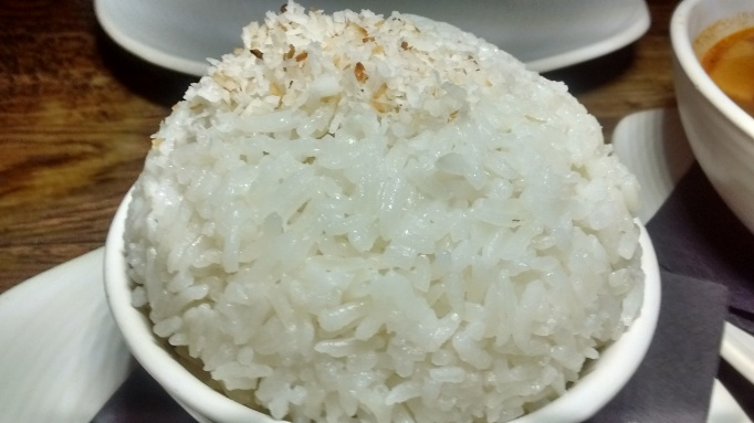 Waggon and Horses coconut rice