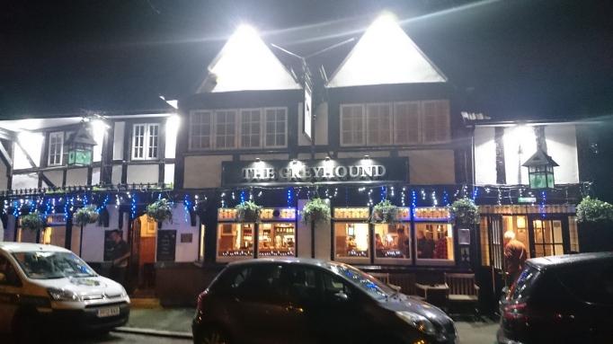 The Greyhound pub exterior