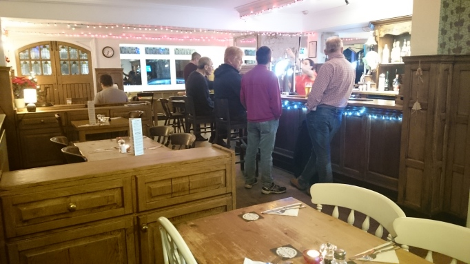 The Greyhound Pub interior