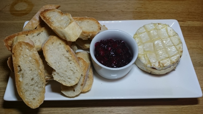 The Greyhound Pub baked camembert