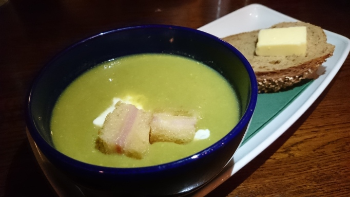 the Refectory Godalming pea and ham soup