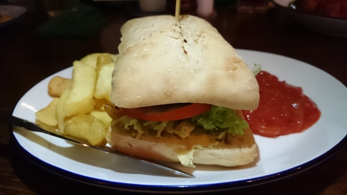 the Refectory Godalming rump steak sandwich