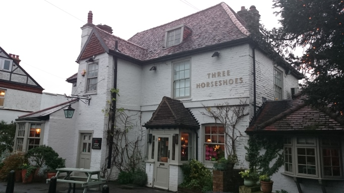 Three Horseshoes Laleham pub exterior