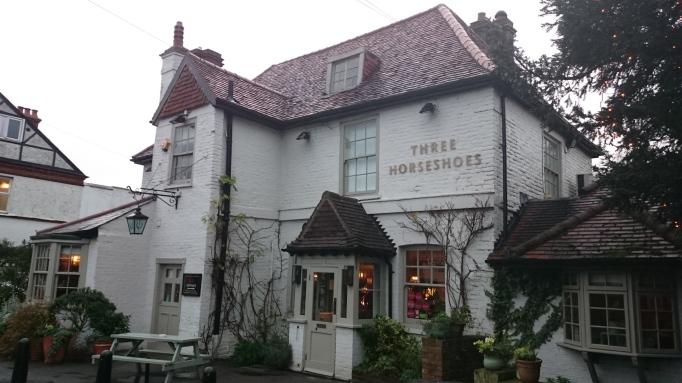 Three Horseshoes Laleham pub exterior
