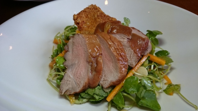 smoked Duck salad The Richard Onslow