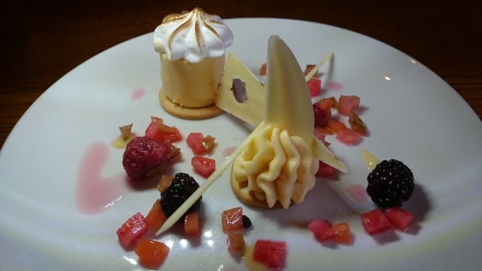 Amazing lemon tart dessert The Richard Onslow