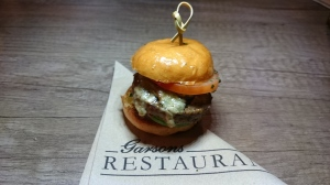 Garson's Farm Restaurant beef and stilton burger