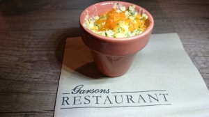 Garson's Farm Restaurant potted macaroni and cheese
